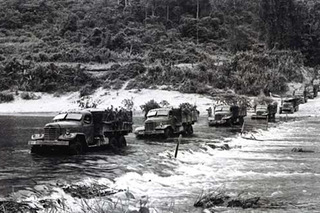 Image result for ho chi minh trail bombing