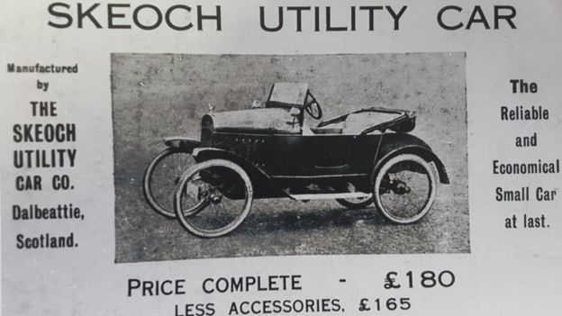 Skeoch Utility car advertisement