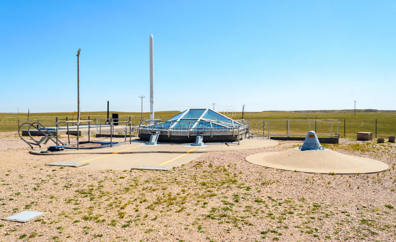 Minuteman Missile National Historic Site. Weapons royalty free stock photo